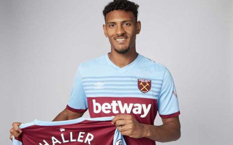 West Ham United signed French striker Sebastien Haller from Bundesliga team Eintracht Frankfurt for an undisclosed club-record fee, the Premier League club announced on 17 July 2019. Picture: @davidgold/Twitter.