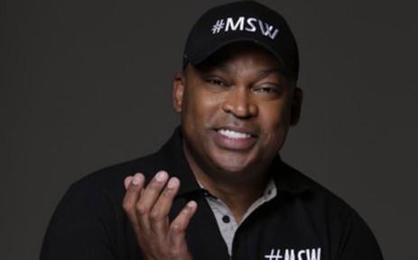 TV personality Robert Marawa. Picture: @MarawaSportShow/Twitter