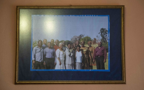 A picture of members of the Luthuli clan. Picture: Abigail Javier/EWN