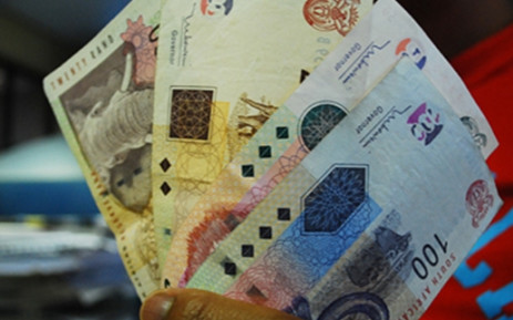 South African currency. Picture: Taurai Maduna/Eyewitness News
