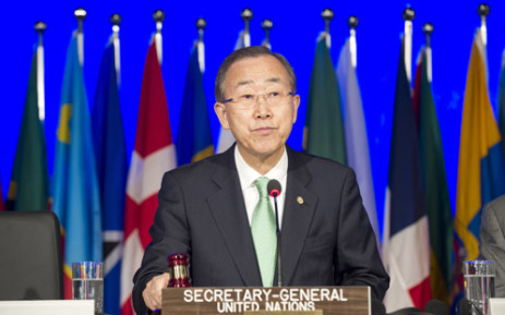 UN Secretary-General Ban Ki Moon speaking at the Rio+20 Summit in Brazil. Picture: The United Nations.