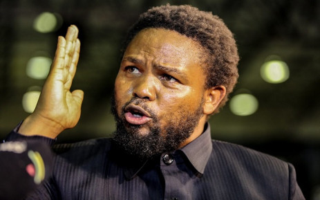 FILE: BLF leader Andile Mngxitama at the IEC results centre in Pretoria on 10 May 2019. Picture: Kayleen Morgan/EWN