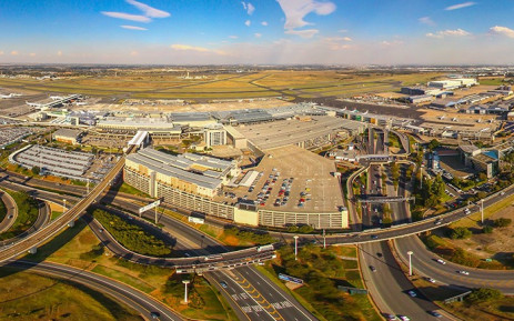 OR Tambo International Airport. Picture: Acsa