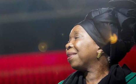 FILE: Nkosazana Dlamini-Zuma at the ANC national policy conference at Nasrec on 30 June 2017. Picture: Thomas Holder/EWN.