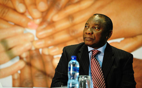 Deputy President Cyril Ramaphosa. Picture: GCIS.