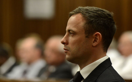 FILE: Oscar Pistorius in the dock at the High Court in Pretoria on 21 October 2014. Picture: Pool.