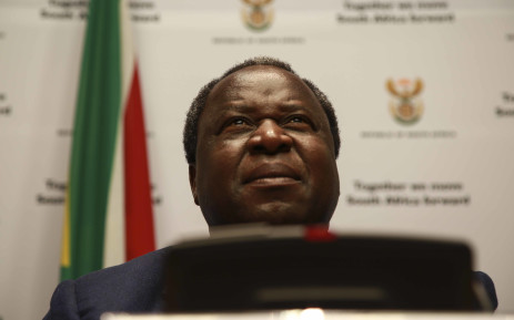 FILE: Finance Minister Tito Mboweni addressing the media prior to his annual Budget speech taking place on 20 February 2018 in Cape Town. Pictures: EWN.