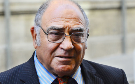 Former Intelligence Minister Ronnie Kasrils. Picture: AFP