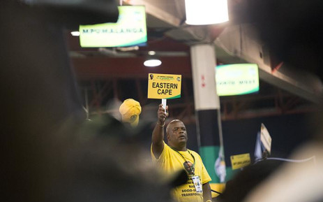 A delegate from the Eastern Cape at the nominations process at the ANC's national conference on 17 December 2017. Picture: Sethembiso Zulu/EWN
