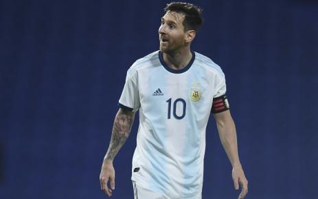 FILE: Argentina's Lionel Messi. Picture: AFP.