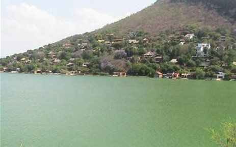 A view of Hartbeespoort Dam.
