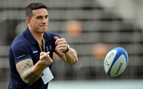 Francois Botha said even his son could beat Rugby World-Cup winner Sonny Bill Williams in the WBA International Heavyweight title fight. Picture: AFP
