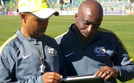 David Notoane, coach of the Olympic U23 squad. Picture: Twitter/@SAFA_net