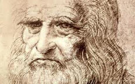 Self Portrait in Old Age, Leonardo da Vinci. Picture: wallpapers.bassq.nl