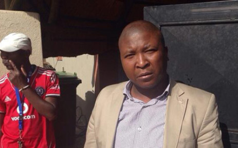 Controversial sign-language interpreter Thamsanqa Jantjie remains in a psychiatric hospital but has stabalised. Picture: Alex Eliseev/EWN.