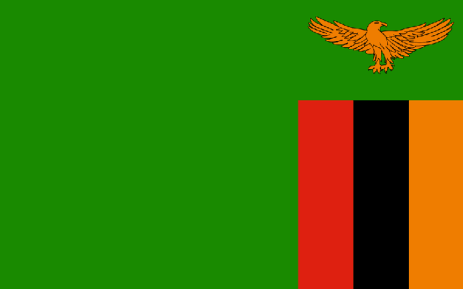 FILE: Zambian flag. Picture: Supplied.