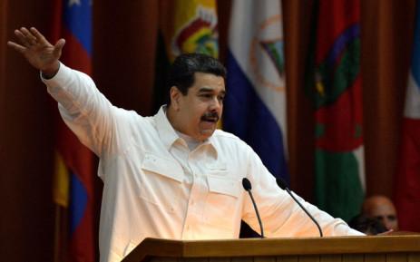 FILE: Venezuela President Nicolas Maduro. Picture: AFP.