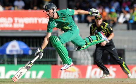 Proteas' AB de Villiers. Picture: AFP