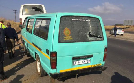 FILE: Taxi violence erupted over routes in Diepsloot and Olievenhout on 15 July 2015. Picture: Faizel Patel/EWN.