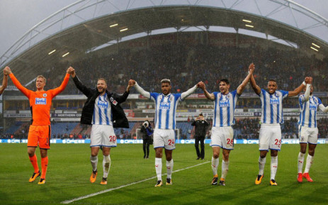 FILE: Manchester United suffered their first defeat of the season with a shock 2-1 loss at promoted Huddersfield Town. Picture: Twitter @htafcdotcom.