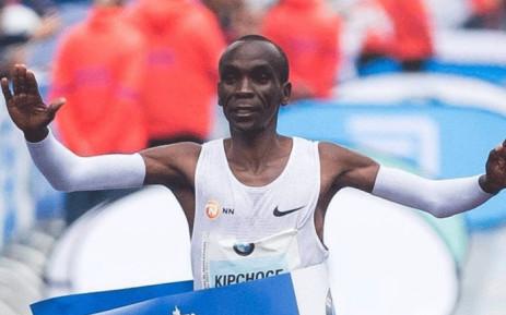 FILE: Kenya's Olympic marathon champion Eliud Kipchoge. Picture: @EliudKipchoge/Twitter.