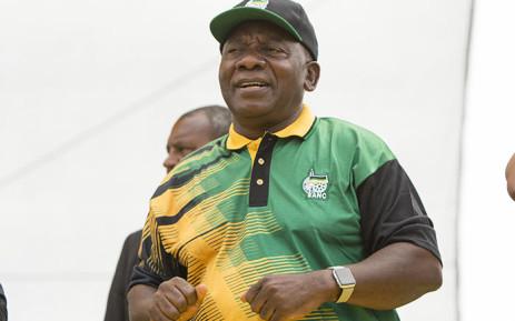 ANC President Cyril Ramaphosa. Picture: Sethembiso Zulu/EWN