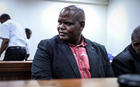 FILE: Former acting police commissioner Khomotso Phahlane appears in the Specialised Commercial Court in Johannesburg on fraud and corruption charges. Picture: Abigail Javier/EWN.