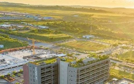 A picture of the Durban Aerotropolis. Picture: Www.dubetradeport.co.za