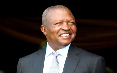 Deputy President David Mabuza at the Mpumalanga Show on 31 August 2019. Picture: @PresidencyZA/Twitter