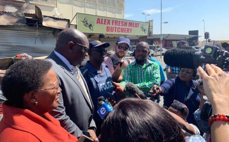 Makhura says criminal syndicates behind Gauteng riots