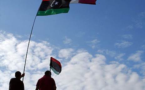 Libyan flags