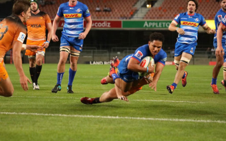The Stormers scored four tries to claim a 35-8 bonus-point win against the Jaguares at Newlands on Friday night. Picture: Twitter @THESTORMERS.