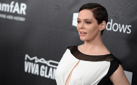 FILE: Actor Rose McGowan in Los Angeles. Picture: AFP.