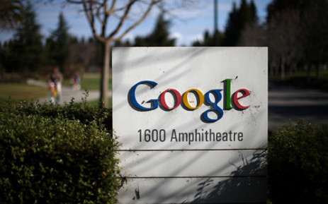 FILE: A sign is posted outside of Google headquarters on 30 January, 2014 in Mountain View, California. Picture: AFP.