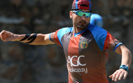 FILE: Afghanistan fast bowler Hamid Hassan. Picture: AFP