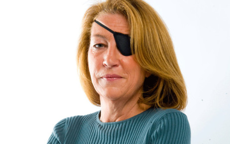 FILE: A handout picture obtained in London on 22 February 2012, from British newspaper the 'Sunday Times', shows US war correspondent Marie Colvin. Picture: AFP