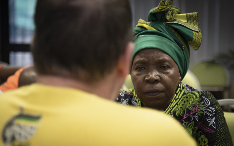 Cooperative Governance and Traditional Affairs Minister Nkosazana Dlamini-Zuma. Picture: Sethembiso Zulu/EWN.
