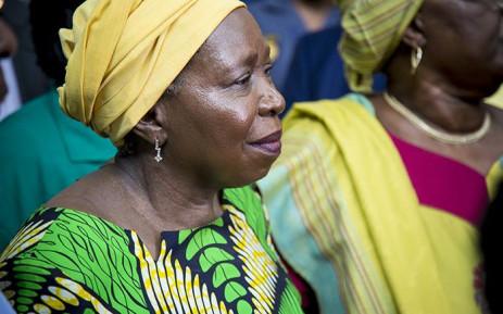 FILE: ANC NEC member Nkosazana Dlamini-Zuma waits to address a crowd of ANC supporters. Picture: Reinart Toerien/EWN