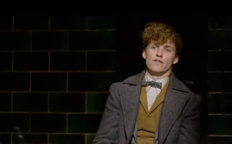 """A screengrab of Eddie Redmayne from the trailer of """"Fantastic Beasts: The Crimes of Grindelwald"""". Picture: YouTube."""