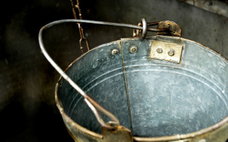 Water bucket. Picture: Freeimages