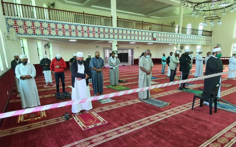 FILE: The Al-Khair Mosque in Mitchells Plain reopened under strict conditions in June 2020 due to the coronavirus pandemic. Picture: Supplied.