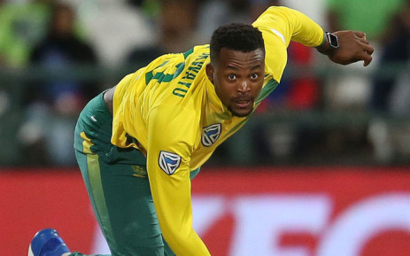 FILE: Proteas fast bowler Andile Phehlukwayo. Picture: @OfficialCSA/Twitter