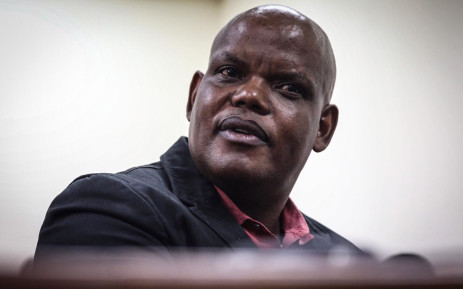Caption: Former acting national police commissioner Khomotso Phahlane appears in the Specialised Commercial Crime Court in Johannesburg on 1 March 2019 on charges of fraud and corruption. Picture: Abigail Javier/EWN