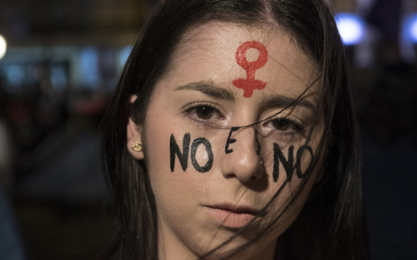 A woman takes part of a demonstration in the framework of the International Day for the Eradication of Violence against Women in San Jose, Costa Rica, on 25 November 2019. Picture: AFP