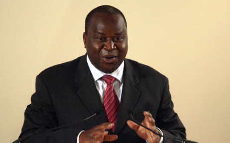 File picture of Former Reserve Bank Governor Tito Mboweni. Picture: Sapa.