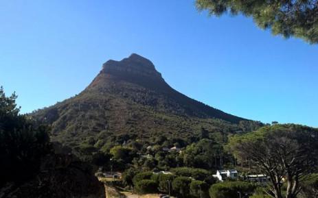 FILE: Lion's Head in Cape Town. Picture: Zunaid Ismael/EWN.