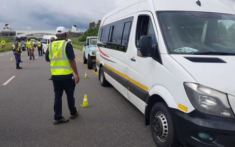 FILE: Traffic police conduct a routine roadblock over the long weekend. Picture: RTMC