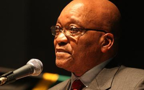 South African President Jacob Zuma. Picture: Eyewitness News