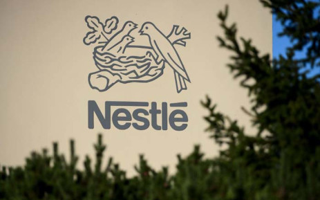 A logo of the world's leading food industry group Nestle is seen in 2014, at the group's Research Centre in Vers-chez-les-Blanc above Lausanne, Switzerland. Picture: AFP.