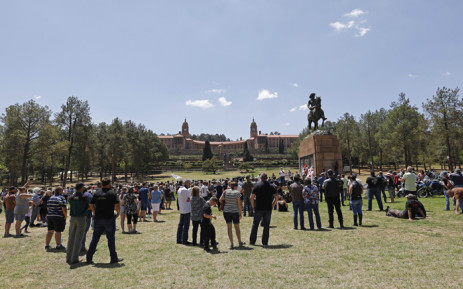 Protesters at Union Buildings demand better rural security from police, Newsline